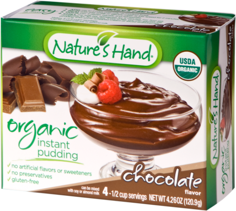 Organic Chocolate Pudding