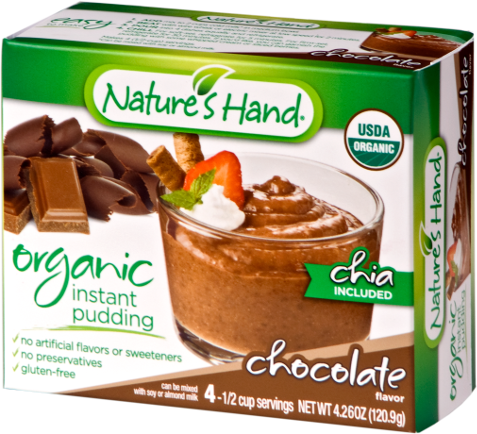 Organic Chocolate Chia Pudding