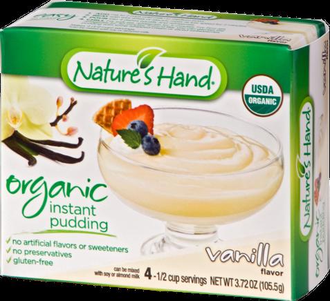 Organic Vanilla Pudding