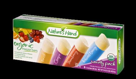 Organic <br>Freezer Bars