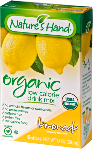 Organic Drink Mix – Lemonade