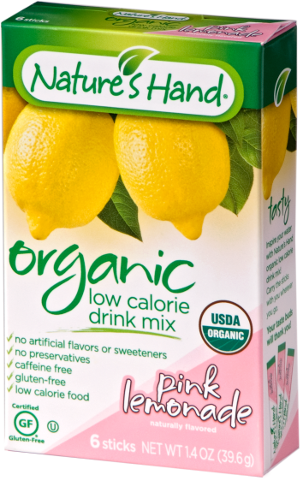 Organic Drink Mix – Pink Lemonade