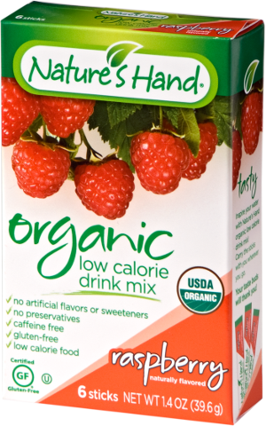 Organic Drink Mix – Raspberry